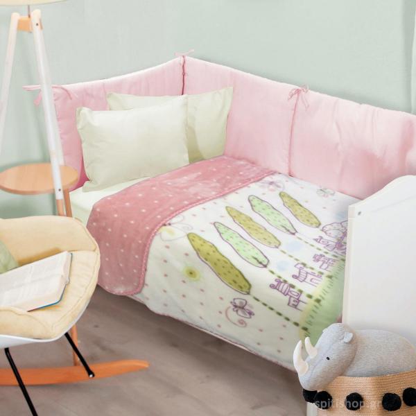 Κουβέρτα Βελουτέ Κούνιας Das Home Blanket Line 6592