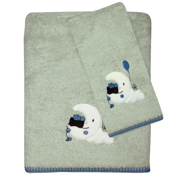 Βρεφικές Πετσέτες (Σετ 2τμχ) Das Home Smile Line 6602