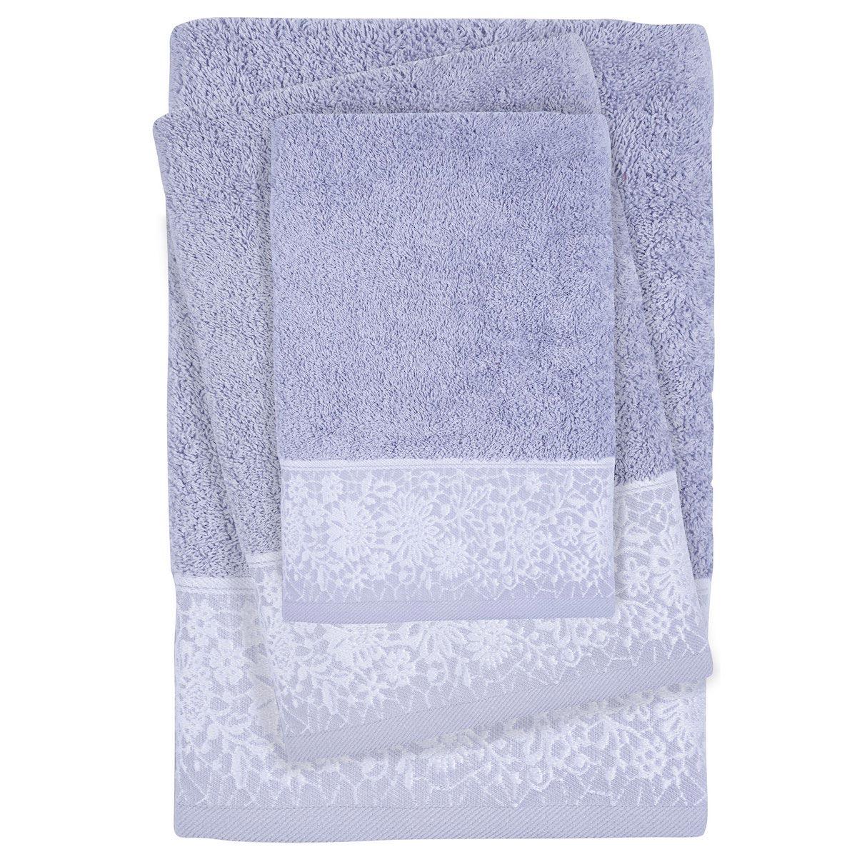 Πετσέτες Μπάνιου (Σετ 3τμχ) Das Home Daily Line 0434 Blue