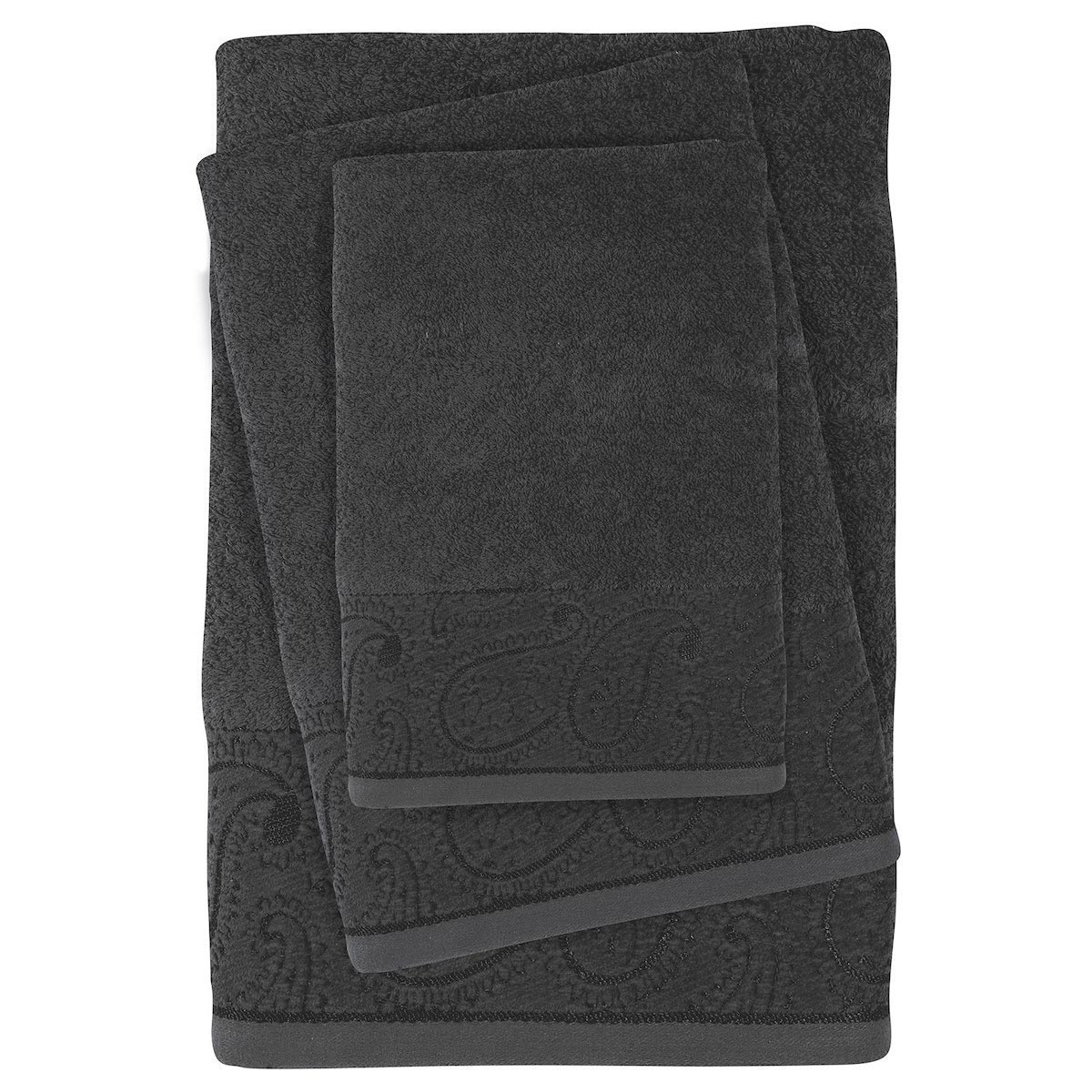 Πετσέτες Μπάνιου (Σετ 3τμχ) Das Home Daily Line 0436 Grey