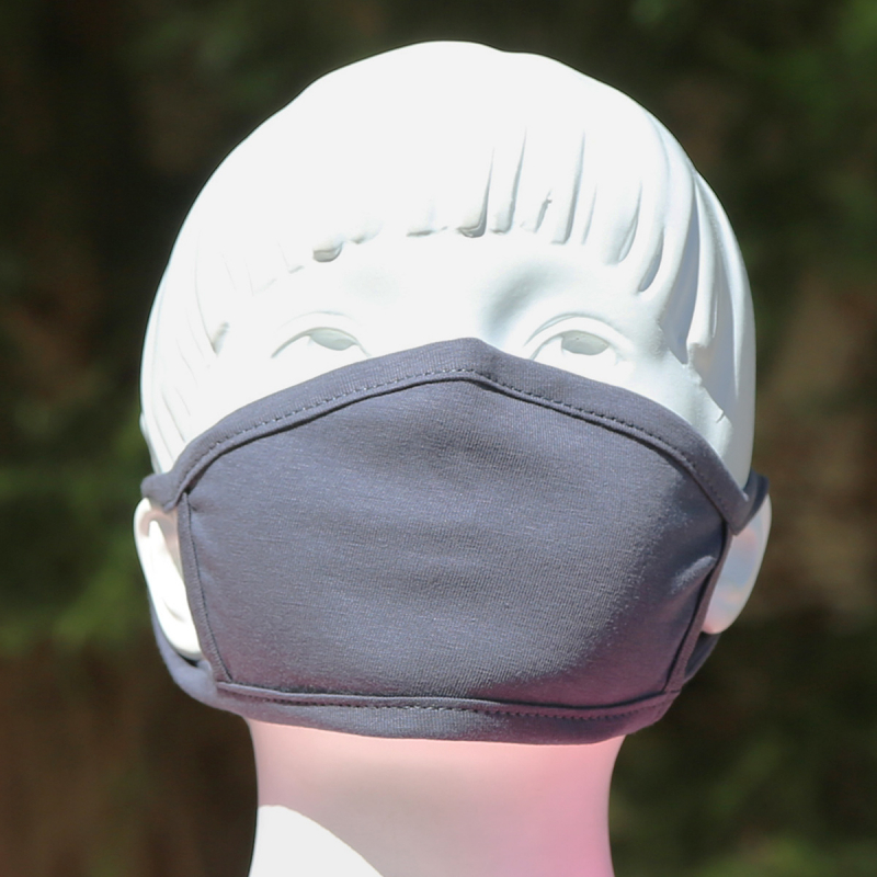 Παιδική Μάσκα Προστασίας Υφασμάτινη San Lorentzo Dark Grey