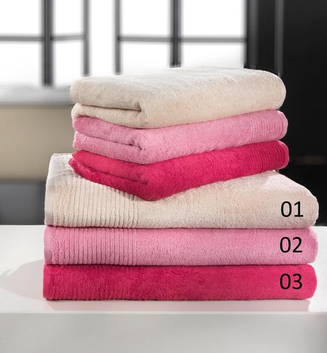 Πετσέτες Μπάνιου (Σετ 2τμχ) Nima Esquarda