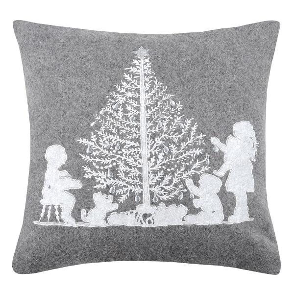 Χριστουγεννιάτικο Μαξιλάρι (40x40) S-F Snowing Enfant C0A274002