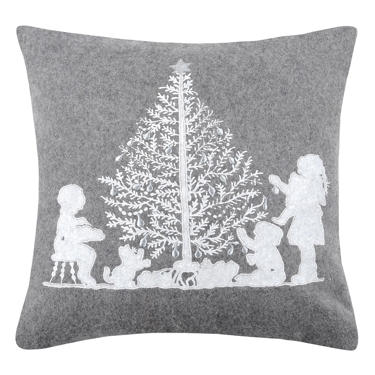 Χριστουγεννιάτικο Μαξιλάρι (40×40) S-F Snowing Enfant C0A274002