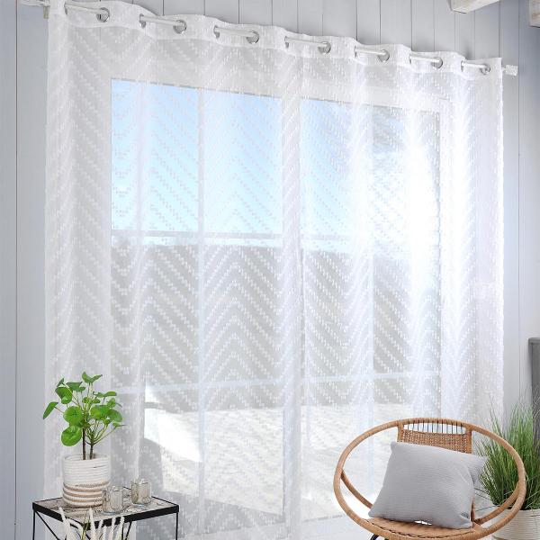 Κουρτίνα (290x280) Με Τρουκς S-F Design Blanc R8A193001VL