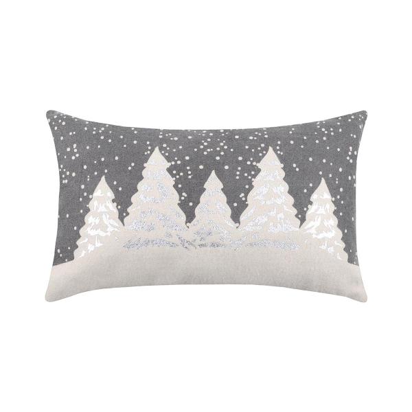 Χριστουγεννιάτικο Μαξιλάρι (30x50) S-F Snowing Gris C3A274001