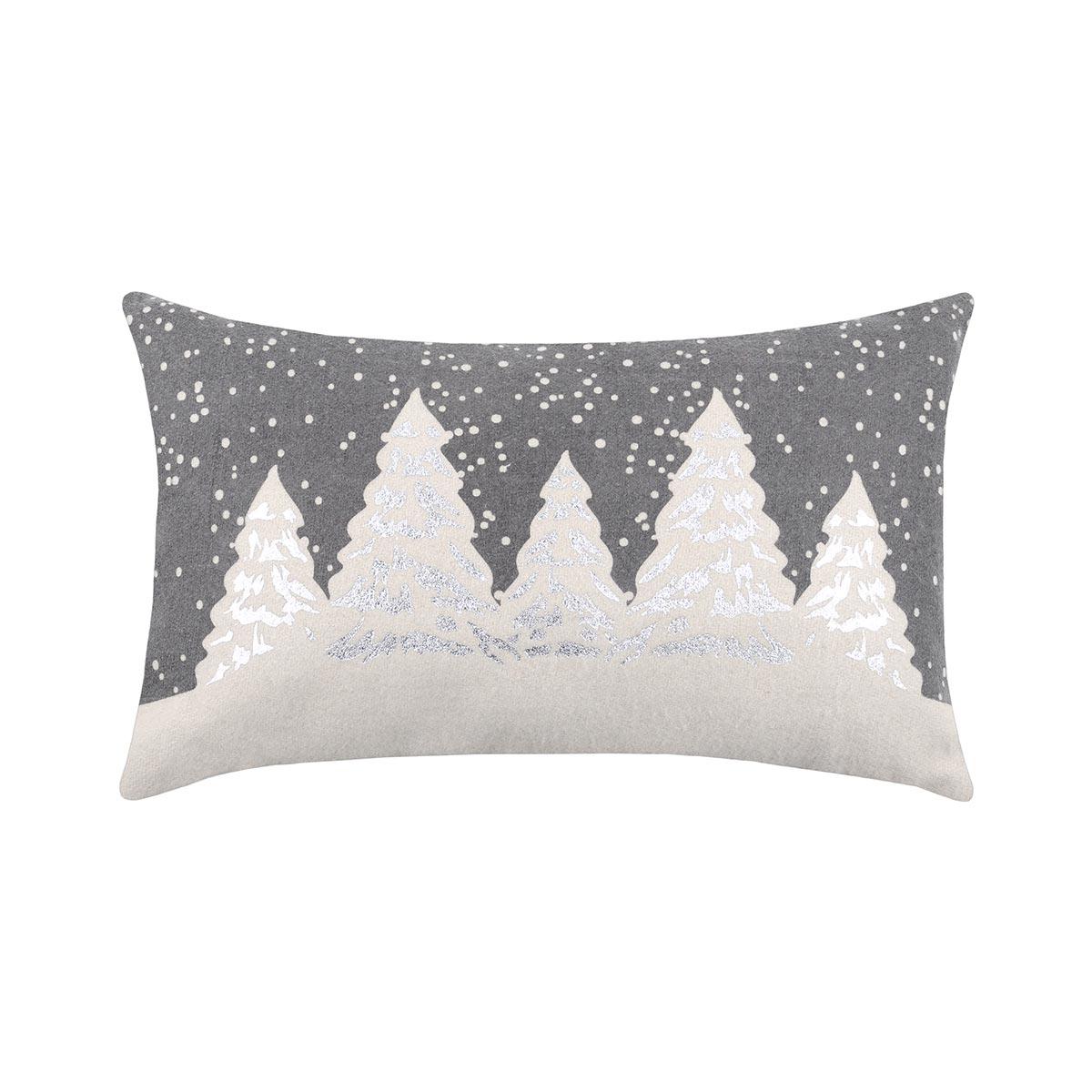 Χριστουγεννιάτικο Μαξιλάρι (30×50) S-F Snowing Gris C3A274001