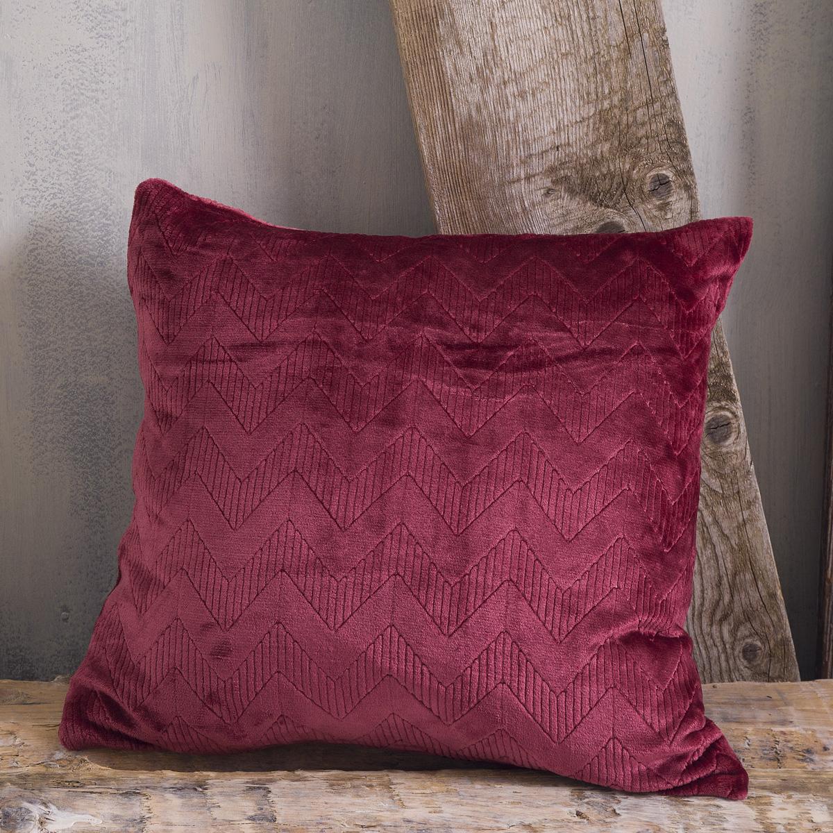 Διακοσμητική Μαξιλαροθήκη (50×50) Rythmos Alpine Red