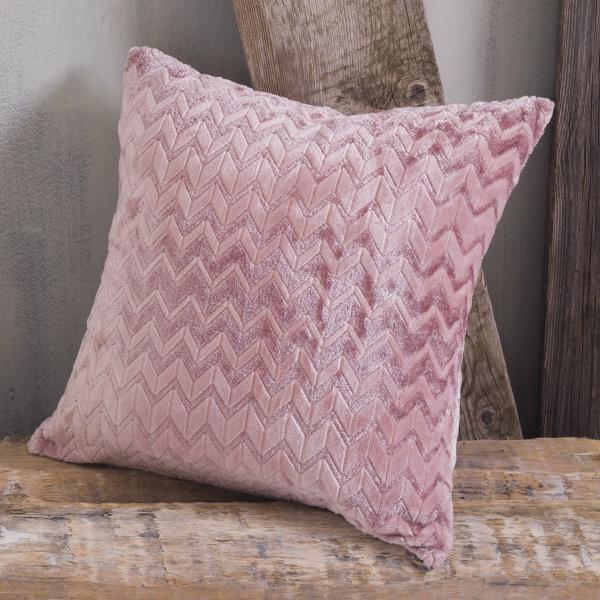 Διακοσμητική Μαξιλαροθήκη (50x50) Rythmos Montana Pink