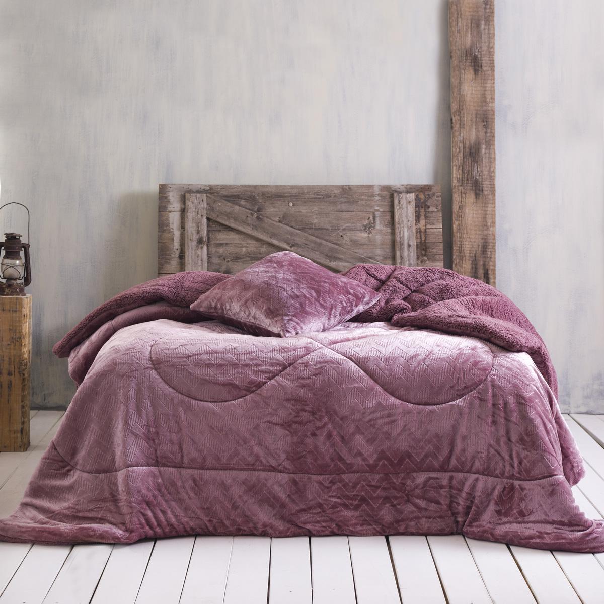 Κουβερτοπάπλωμα Μονό Rythmos Alpine Pink