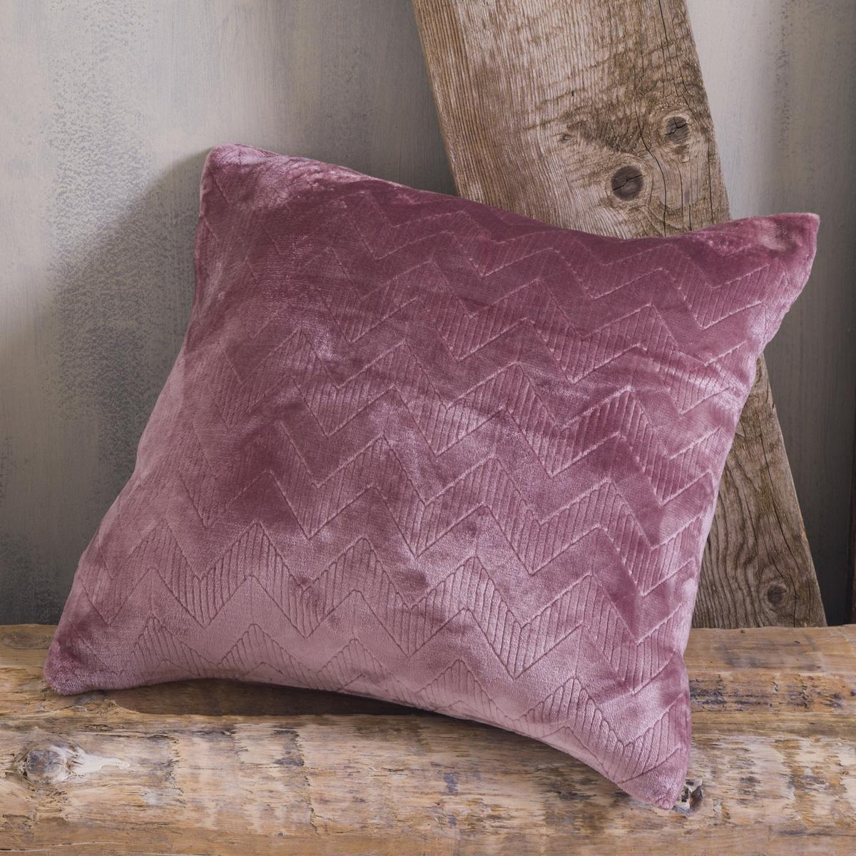 Διακοσμητική Μαξιλαροθήκη (50×50) Rythmos Alpine Pink