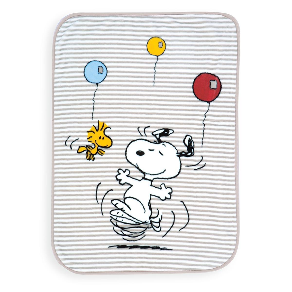 Κουβέρτα Βελουτέ Κούνιας Nef-Nef Snoopy World