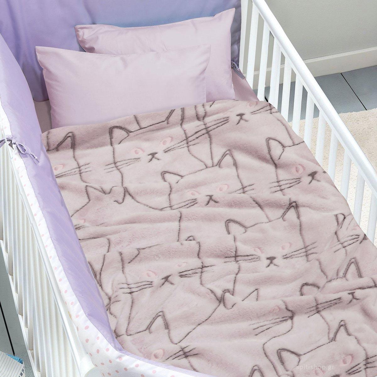 Φωσφοριζέ Κουβέρτα Fleece Αγκαλιάς Das Home Blanket Line 4735