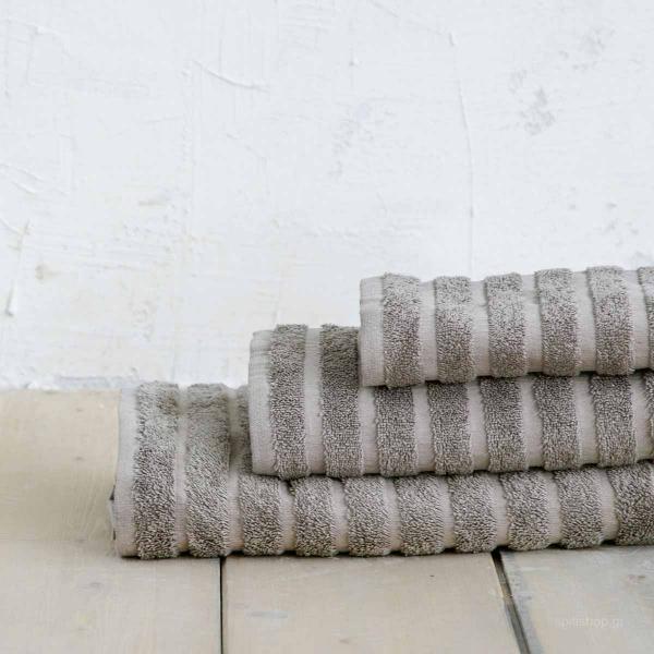 Πετσέτες Μπάνιου (Σετ 3τμχ) Nima Bath Palmiere