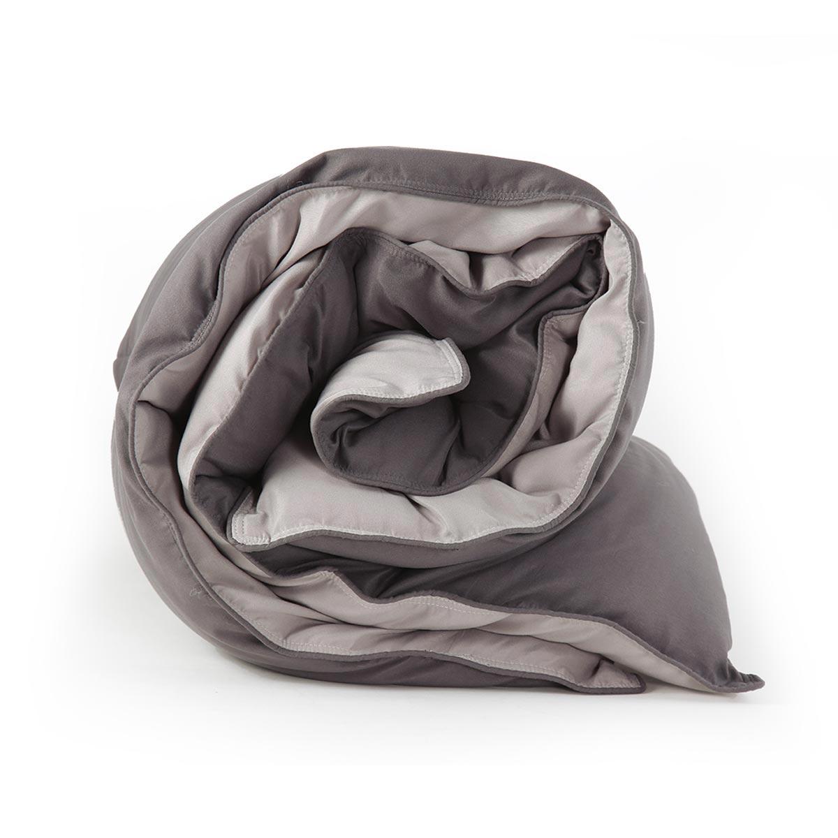 Πάπλωμα King Size 2 Όψεων Nef-Nef Bicolor D.Grey/L.Grey