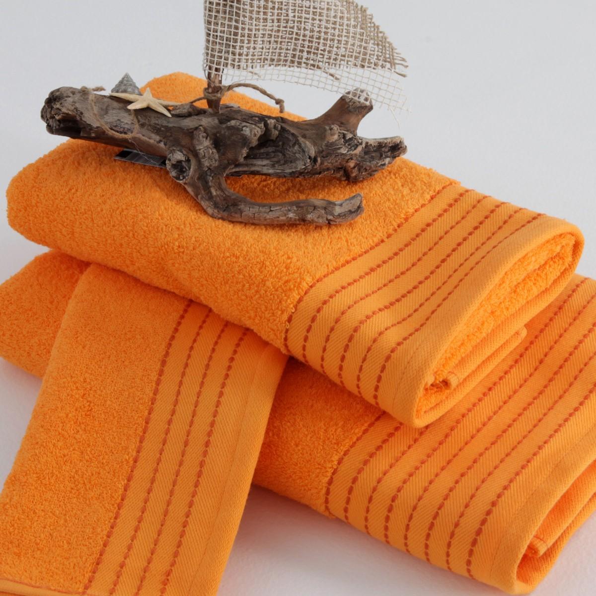 Πετσέτα Σώματος (70x140) Sb Concept Designer Orange