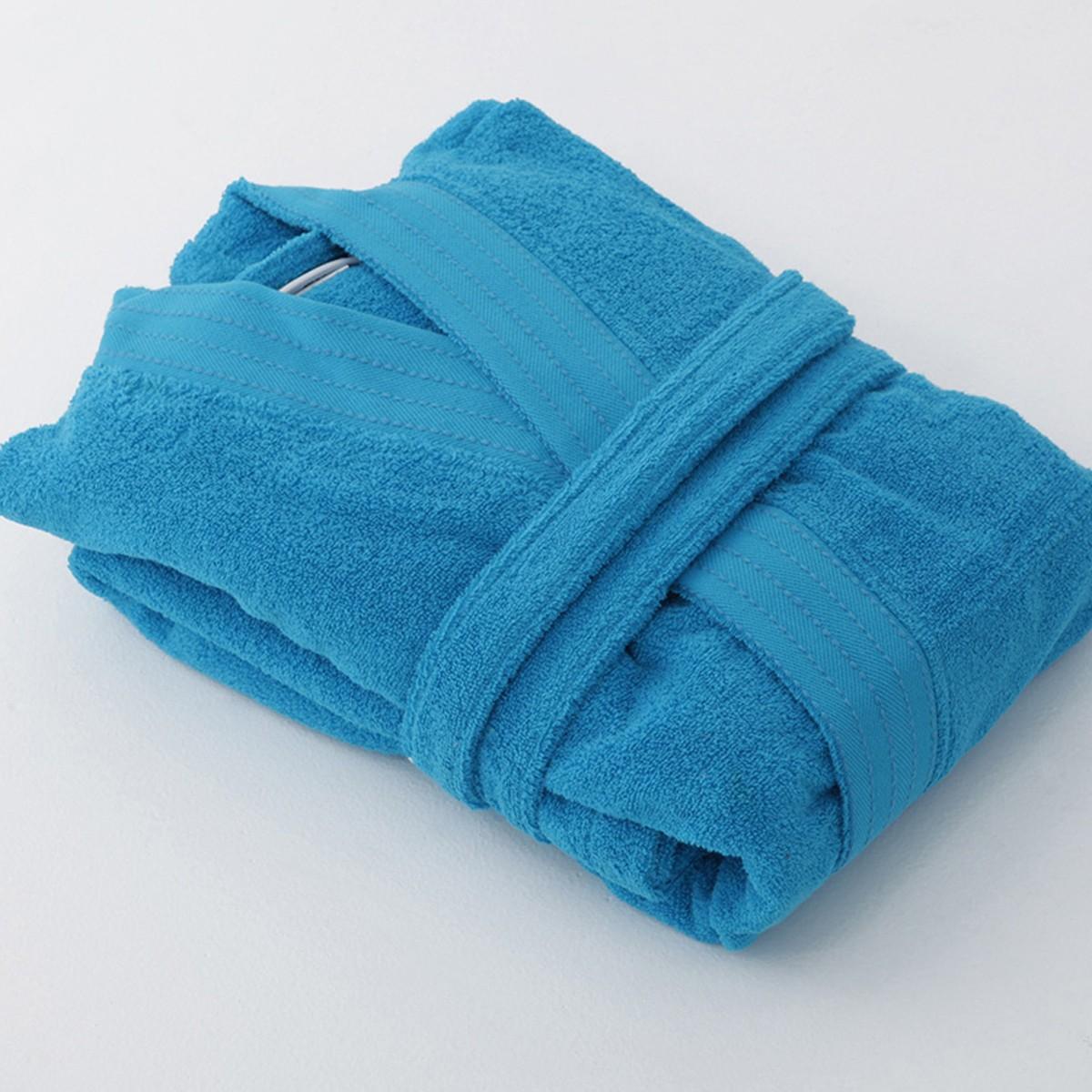 Μπουρνούζι Με Γιακά Sb Concept Designer Turquoise SMALL SMALL