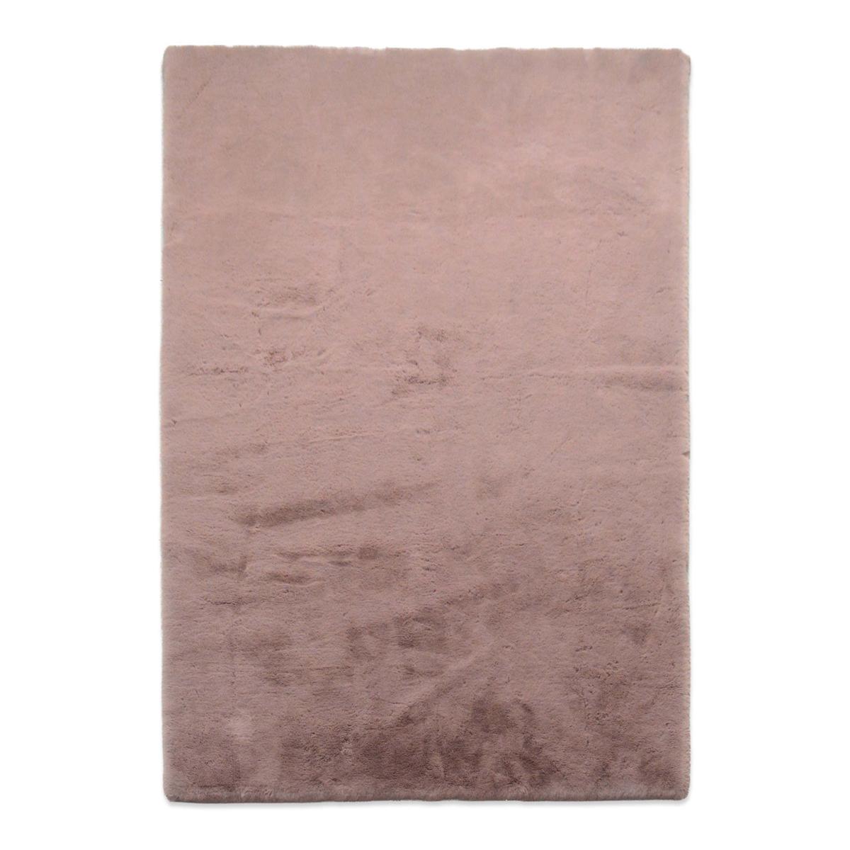 Γούνινο Χαλί (160×230) New Plan Puffy JM7 Dark Pink