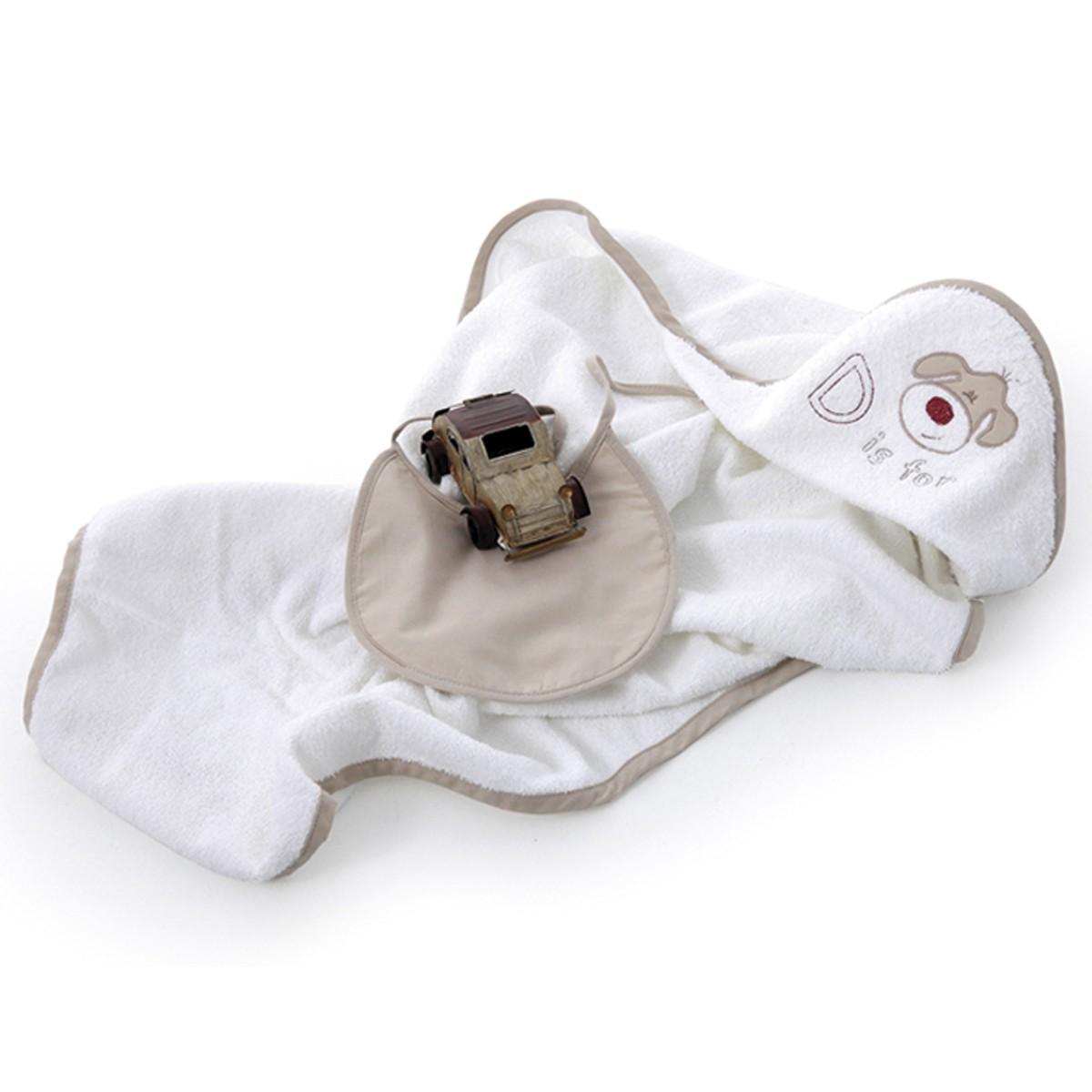 Βρεφική Κάπα Και Σαλιάρα Sb Concept Dogs