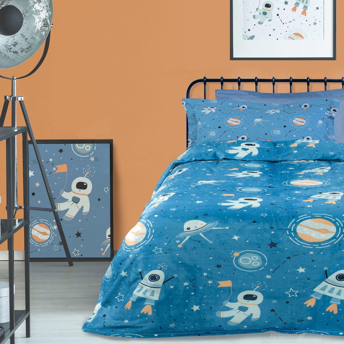 Κουβέρτα Fleece Μονή Das Home Kid Line 4729