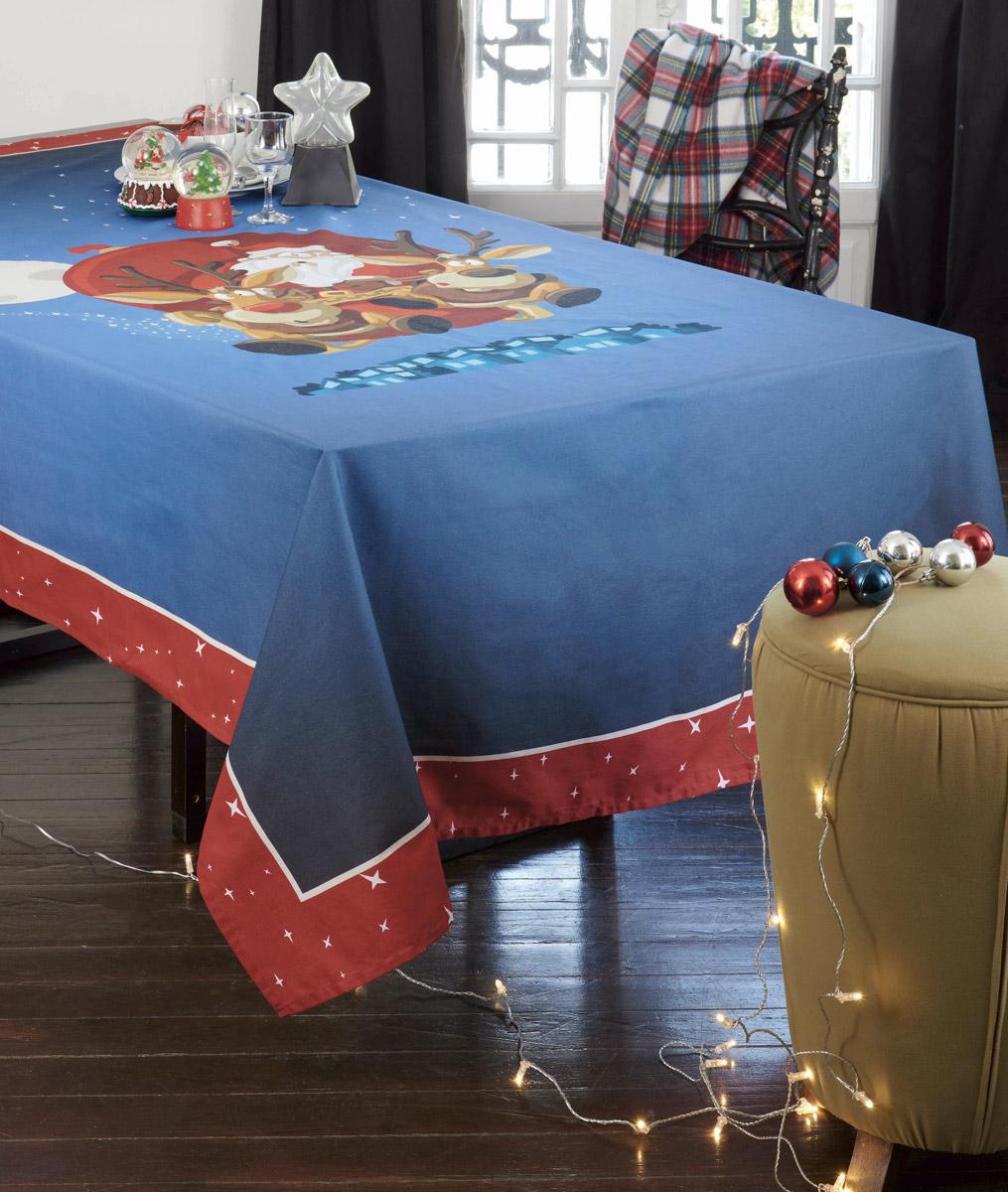 Χριστουγεννιάτικο Τραπεζομάντηλο (140×180) Makis Tselios Rudolf