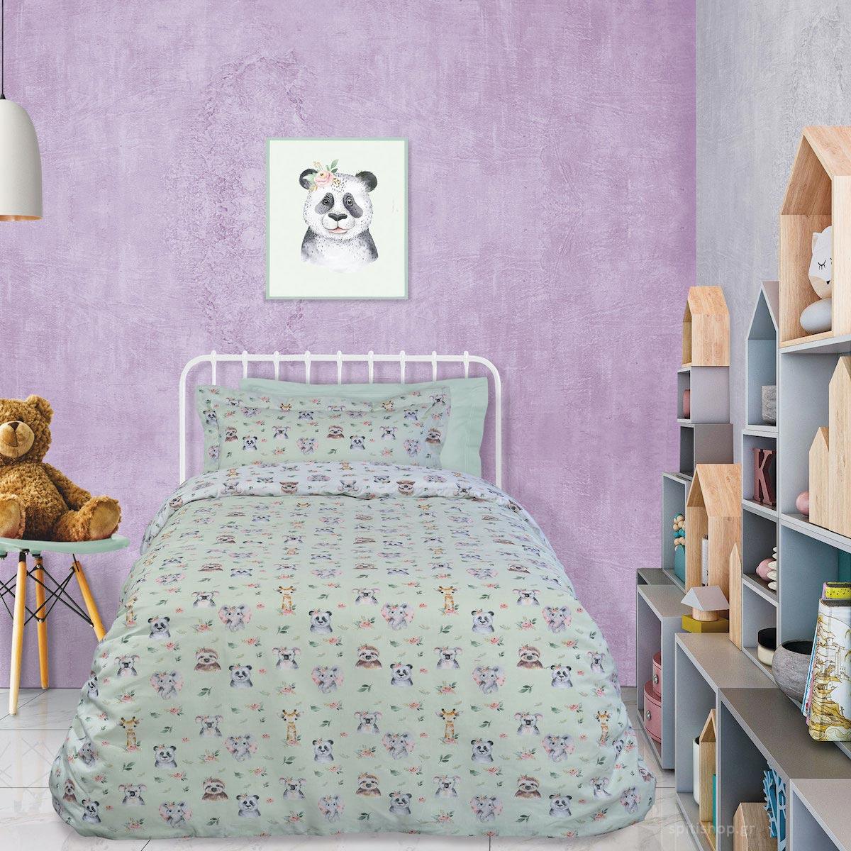 Σεντόνια Μονά (Σετ) Das Home Kid Line 4739