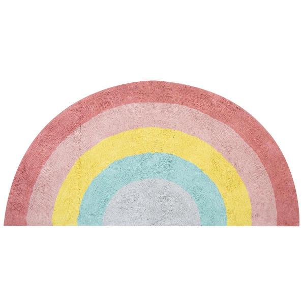 Παιδικό Χαλί (70x140) Nef-Nef Rainbow Pink