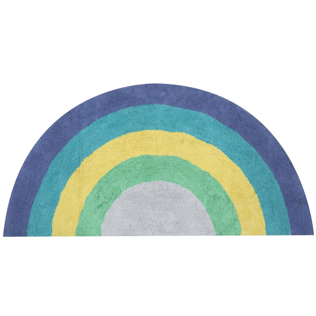 Παιδικό Χαλί (70×140) Nef-Nef Rainbow Blue