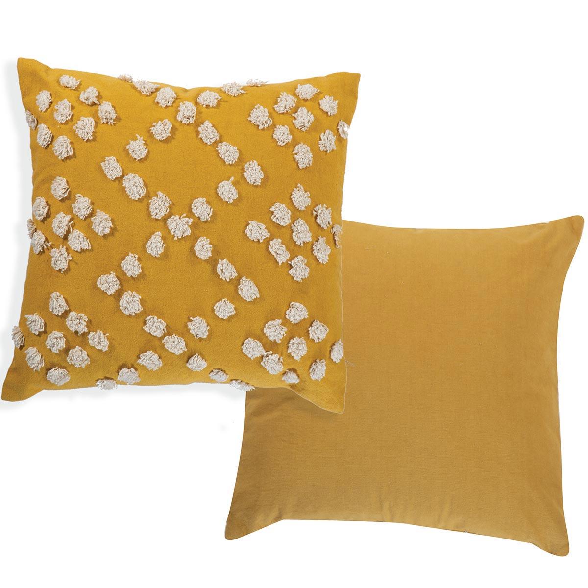 Διακοσμητικό Μαξιλάρι (45x45) Nef-Nef Deline Yellow