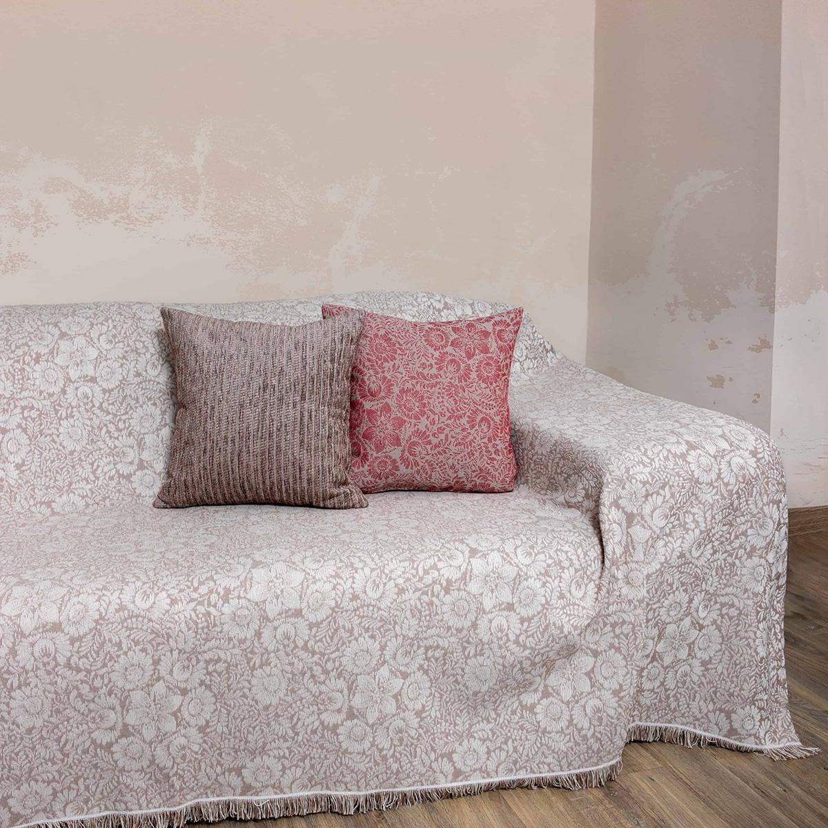 Ριχτάρι Τριθέσιου (180×300) Loom To Room Lilly Beige