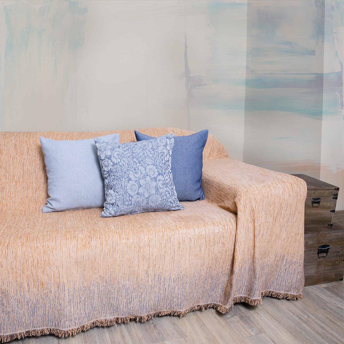 Ριχτάρι Πολυθρόνας (180×180) Loom To Room Dimitra Gold