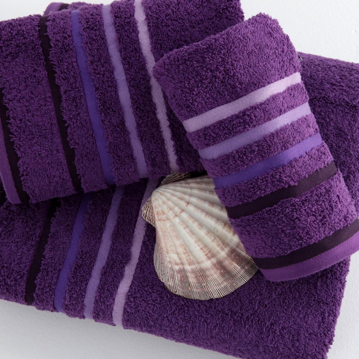 Πετσέτα Προσώπου (50×100) Sb Concept Selection Purple