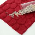Πατάκι Μπάνιου (60×100) Sb Concept Bath Mats Stones Bordeaux