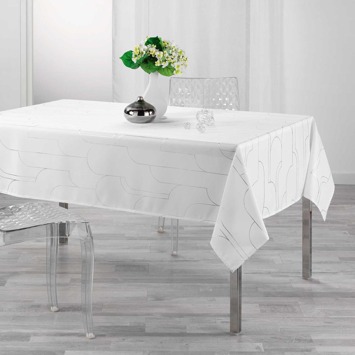 Αλέκιαστο Τραπεζομάντηλο (150×240) L-C Domea Blanc 1722672