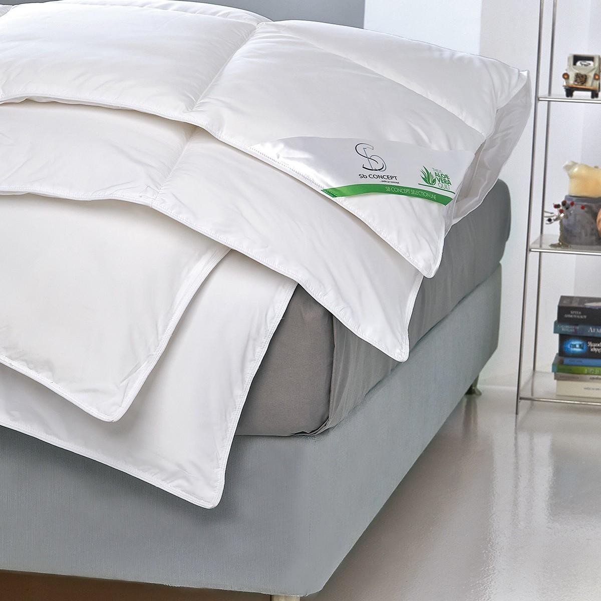 Πάπλωμα Υπέρδιπλο Sb Home Aloe Vera Treatment home   κρεβατοκάμαρα   παπλώματα   παπλώματα λευκά