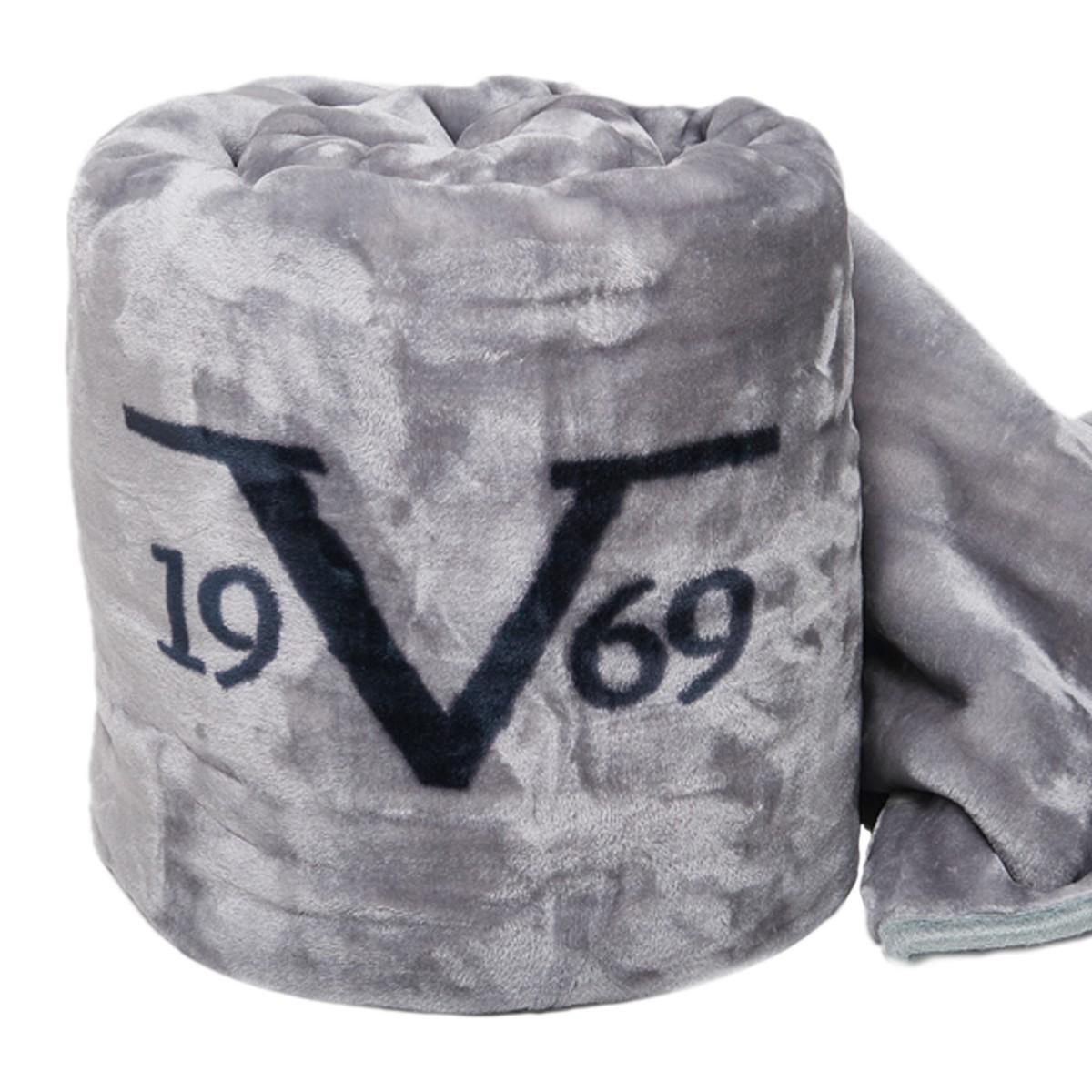 Κουβέρτα Βελουτέ Υπέρδιπλη V19.69 Velluto Grigio