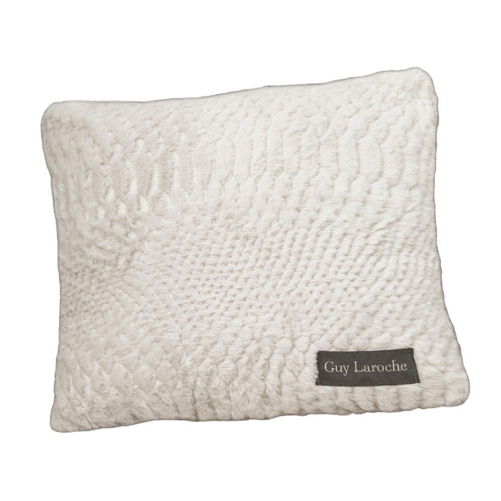 Γούνινο Διακοσμητικό Μαξιλάρι (45×45) Guy Laroche Crusty Ivory