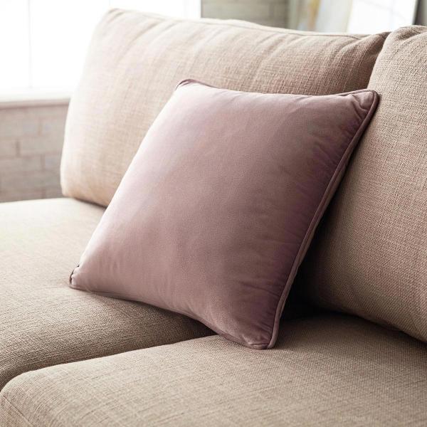 Διακοσμητική Μαξιλαροθήκη (43x43) Gofis Home Winter Lilac 711/19