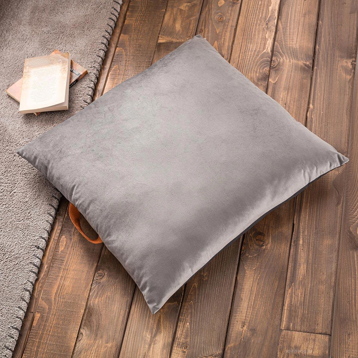Θήκη Μαξιλάρας (65×65) Gofis Home Winter Grey 711/15