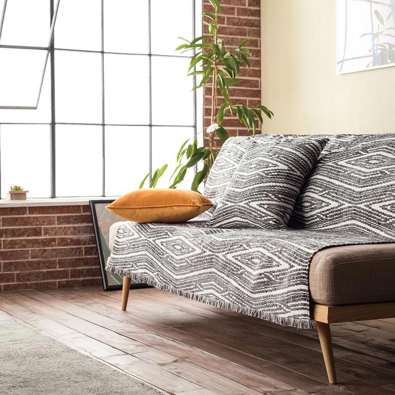Ριχτάρι Διθέσιου (180x250) Gofis Home Streamy Grey 663/15