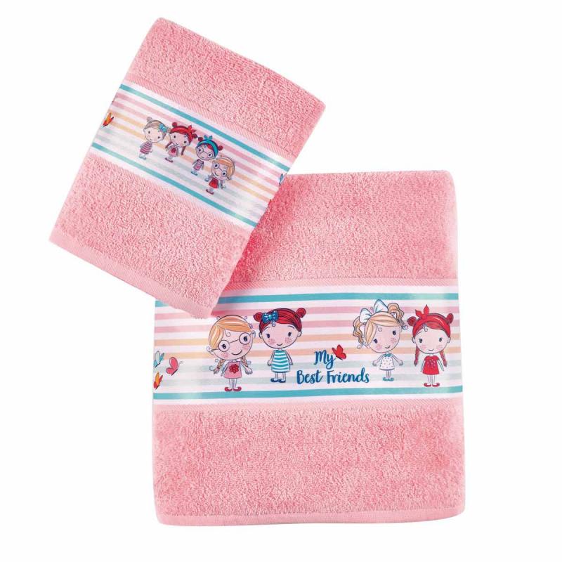 Παιδικές Πετσέτες (Σετ 2τμχ) Kentia Kids Danika
