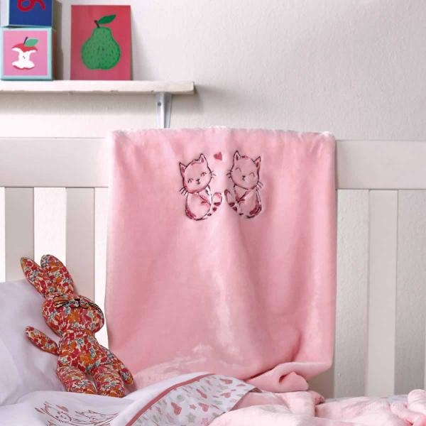 Κουβέρτα Fleece Αγκαλιάς Kentia Baby Marrie