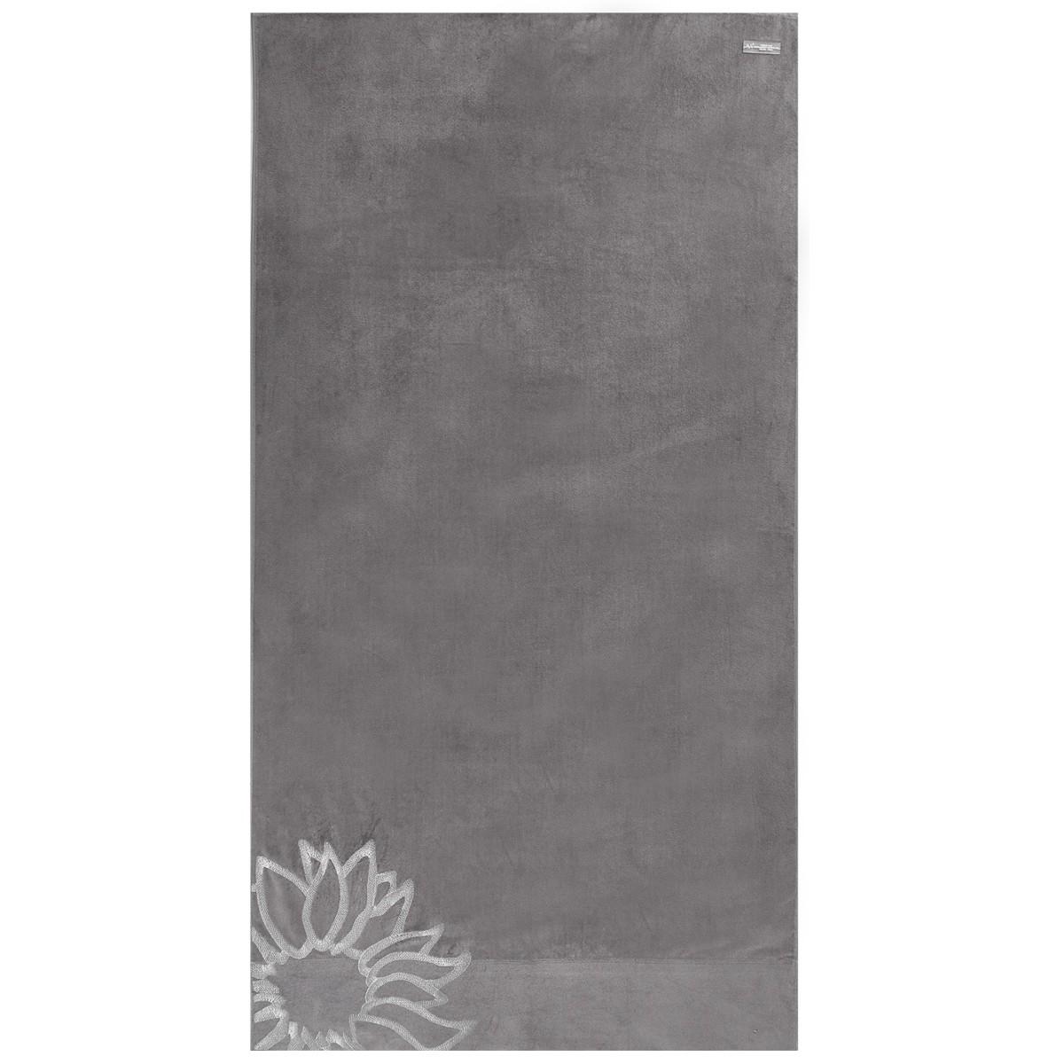 Πετσέτα Θαλάσσης V19.69 Mediterraneo Ravello Grey