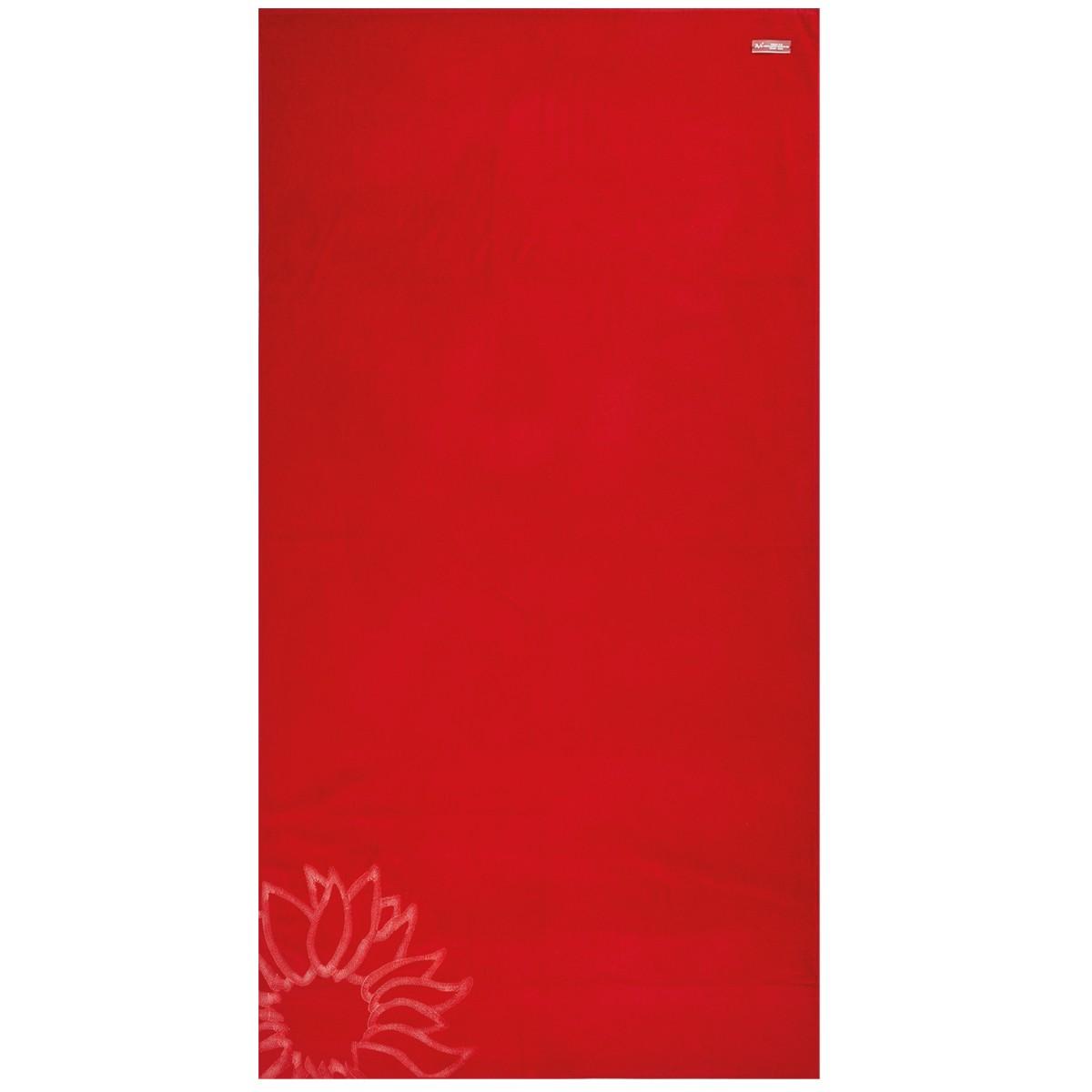 Πετσέτα Θαλάσσης V19.69 Mediterraneo Ravello Red