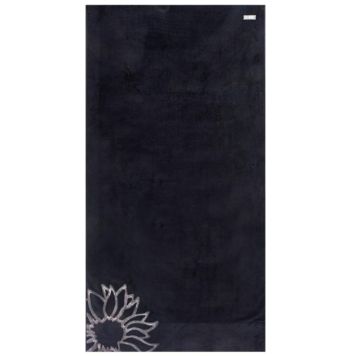 Πετσέτα Θαλάσσης V19.69 Mediterraneo Ravello Black