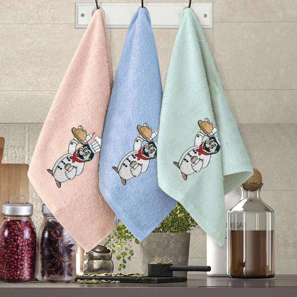 Πετσέτες Κουζίνας (Σετ 3τμχ) Sb Home Coffee Time No11