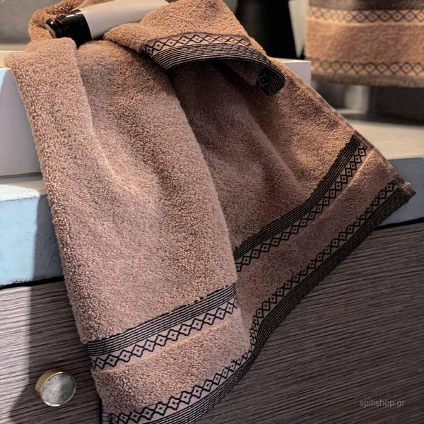 Πετσέτες Μπάνιου (Σετ 3τμχ) Palamaiki Towels Cassel