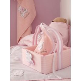 Καλαθάκι Καλλυντικών Pierre Cardin Bear Pink 136