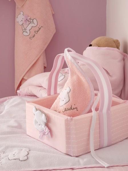 Κάλυμμα Αλλαξιέρας Pierre Cardin Bear Pink 136