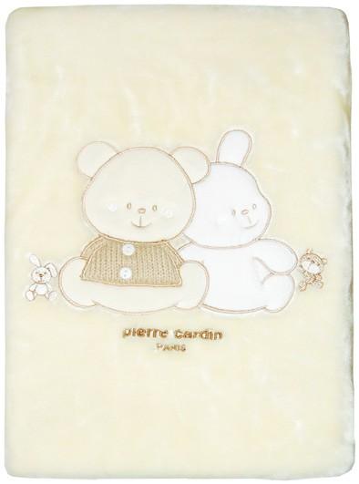 Κουβέρτα Βελουτέ Κούνιας Pierre Cardin Best Friends 74